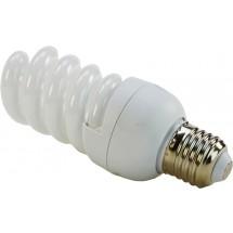 Лампа энергосберегающая 15Вт E27 spiral теплобелая Volta