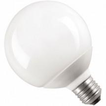 Лампа энергосберегающая 20 вт E27 шар теплобелая КЛЛ Volta Globe