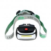 Фонарь налобный светодиодный LED -1005-1 (CH-2016) 3хААА