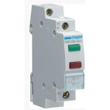 Индикатор двойной зеленый-красный LED 230В 1-модуль SVN126 Hager