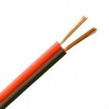 Кабель питания низковольтный 2х16/0,20 красно-черный (0,50мм.кв)