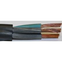 Кабель КГ 4x4 медный, силовой, гибкий в резиновой изоляции
