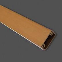 Кабельный канал 10х40мм декорированный коричневый (2м)