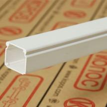 Кабельный короб LHD 17X17 HD 2м Копос Чехия 8595057619920 пластиковый белый цвет