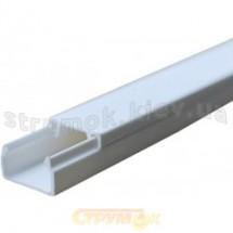 Кабельный канал Аско 12*12 | кабель-канал | лоток | короб Аско пластиковый белый 120х120/2000 мм /Ш*В/Д