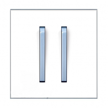 Клавиша 2-кратная белый/синий лед 3559M-A00652 41 Neo ABB