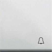 Клавиша с символом Звонок HAGER LUMINA2 WL6010 белый цвет