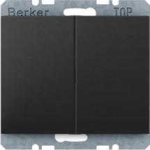 Клавиша 2-го выключателя Berker K.1 14357006 антрацит