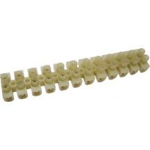 Клеммная колодка тип Н 30мм 80А белый цвет Укрем Аско