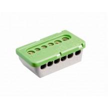 Клеммный блок PE 3x16мм+3x25мм АВВ 1SPE007715F0741