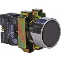 Кнопка черная старт XB2 -ВА21-NO IP40 без фиксации АСКО