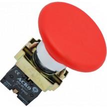 Кнопка грибок (d 60мм) Стоп XB2 - BR42