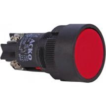 Кнопка красная стоп XB2-ЕН145-NO+NC без фиксации АСКО