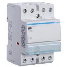 Контактор Hager 24В/40А 4HO 3м ESD440S (AC/DC) модульный