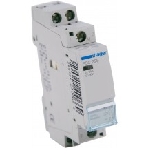 Контактор магнитный модульный Hager ESC225 230В/25A 2НО 1м