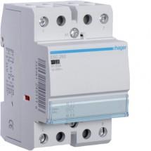 Контактор Hager ESC263 63A катушка 220V 2NO