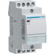 Контактор Hager ESC425 230В25A, 4НО