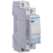 Контактор магнитный модульный Hager ESC126 230В/25A 1НЗ 1м