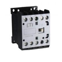 Контактор миниатюрный CEC 07.10 230V AC (7A, 4kW, AC3) ETI 4641054