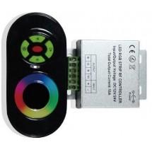 Контроллер RGB 18А радио черный