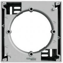 Коробка для наружного монтажа 1-постовая Schneider Asfora алюминий EPH6100161