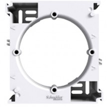 Коробка для наружного монтажа наборная Schneider Asfora белая EPH6100221