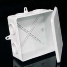 Коробка электромонтажная 8135 РО6 пожаробезопасная 105х105х50