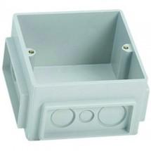 Коробка монтажная для розеточного блока 3-модульная 100x100 650390 Legrand Mosaic