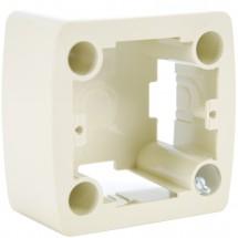 Коробка наружного монтажа Viko Carmen 90571009 белый цвет