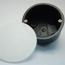 Коробка распределительная для пустотелых стен Ø 70мм (код 205) с металлическими ушками