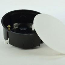 Коробка распределительная для пустотелых стен Ø 80мм (код 206) c металлическими ушками
