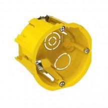 Коробка установочная 65х45мм Schneider IMt35150 монтажная для гипсокартона + соединитель IMT35180