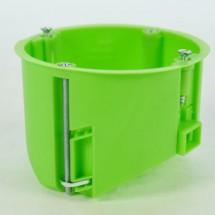Коробка установочная для пустотелых стен Ø 65 HW065 зеленая, ІР30 (глубокая)