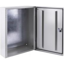 Щит металлический e.mbox.pro.p.120.80.30z IP54 с монтажной панелью 1200х800х300