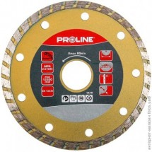 Круг отрезной алмазный125х22мм Турбо (керамика-мрамор) PROLINE  88125
