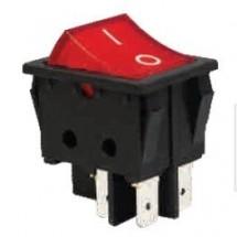 Кулисный выключатель на DIN рейку MSK 1-0-2 Укрем АсКо