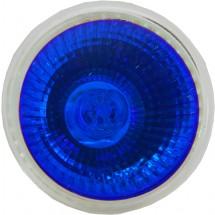 Лампа галог. DELUX МR16 12V, 50Вт, голубая