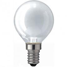 Лампа накаливания Philips Р-45 E14 60W матовая (шар)
