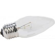 Лампа накаливания ІСКРА ДС230-240В 40Вт Е27 прозрачная свеча