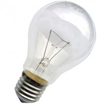 Лампа накаливания МО 24 Вольта / 40 Вт Е27 прозрачная (стандартная)