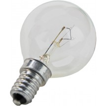 Лампа ДС 230-240 60Вт Е14 шар прозрачная ИСКРА