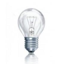 Лампа накаливания ДС230-240В 40Вт Е27 прозрачная, шар