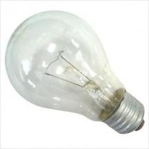 Лампа накаливания Искра А55 230В 100Вт Е27 прозрачная (стандартная)
