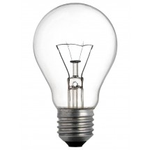 "Лампа накаливания ""Искра"" А55 230В 60Вт Е27 обычная (прозрачная)"