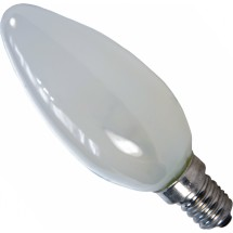 Лампа накаливания ЛПЗ Volta  BF35 230B 60Вт Е14 матовая