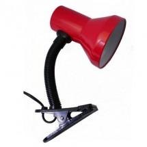Лампа настольная Delux TF-04 E-27 красный цвет 10008537