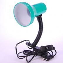 Лампа настольная Delux TF-04 E-27 зеленый цвет 10008536