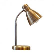 Лампа настольная Delux TF-05 E-27 металл-античный латунь