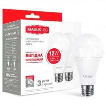 Led лампа МАХUS A60 12W 4100K E27 2-LED-564-01