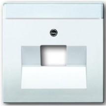 Центральная пластина  PC RJ45 Future/Solo/Carat/Axcent 1803-84 белая